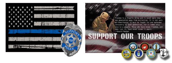 Go Gauge Tactical Supports Those Who Support Us.